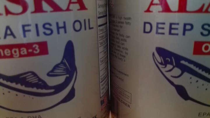 美国深海鱼油康力士鱼肝油原装进口软胶囊 清血管降血脂血糖降血压降三高调节三高 港版 欧米伽3鱼油 100粒/ 1000mg 晒单图