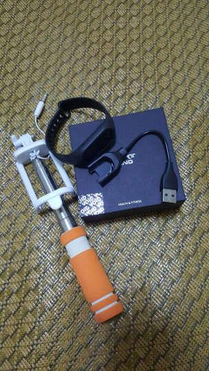 博之轮(BOZLUN)智能手环华为小米通用手环男女防水手表心率血压监测 计步器来电提醒腕带 白色光学心率血氧血压版 晒单图