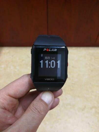 博能(polar) 铁人三项运动腕表 胸带测心率 心率表 心率变异性 储备心率 高端心率表 V800 黑色(包含H10心率带) 晒单图