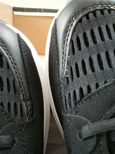丛林狮子休闲运动鞋男士夏季透气网鞋韩版潮流打球轻便跑步鞋子男 黑色 42 晒单图