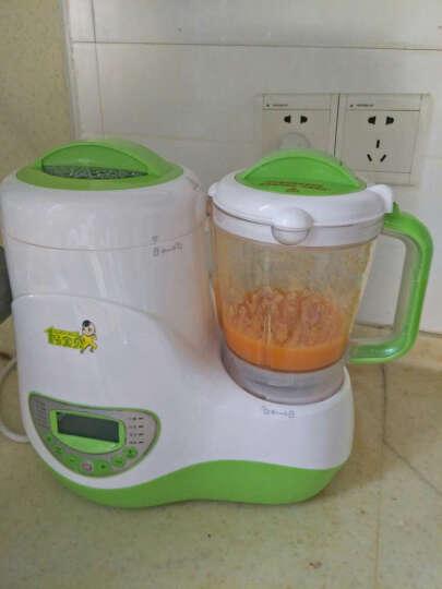 1号宝贝辅食机婴儿料理机宝宝辅食研磨器蒸煮搅拌一体机多功能 不带干磨功能版 晒单图