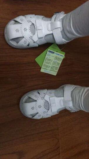江博士Dr.Kong健康鞋宝宝凉鞋 小童健康凉鞋2016新款2岁以上S1016228 白色 25码/16.2cm 晒单图