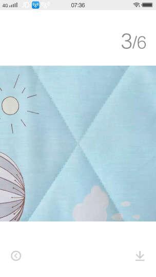 雅蓝悦家纺  全棉夏被夏凉被纯棉空调被子春秋单双人儿童被午睡毯 小鸡王国 150*200cm 晒单图