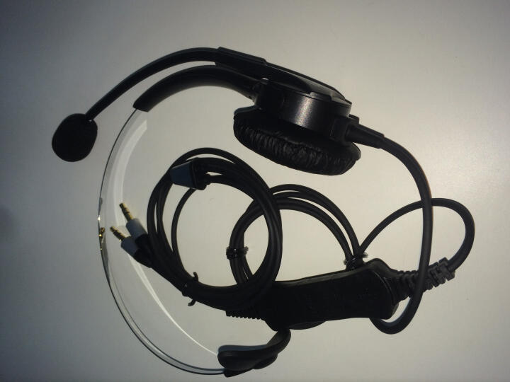 北恩(Hion) FOR600头戴式话务员电话耳麦呼叫中心客服专用电脑耳机 单耳 3.5mm双插头(适用双孔电脑) 晒单图