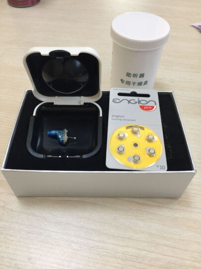 万听(VIAVOICE) 老人助听器无线隐形中老年人专用耳内式年轻人耳聋耳背耳道式 数字3通道 蓝色左耳标配(左耳+电池+耳塞) 晒单图