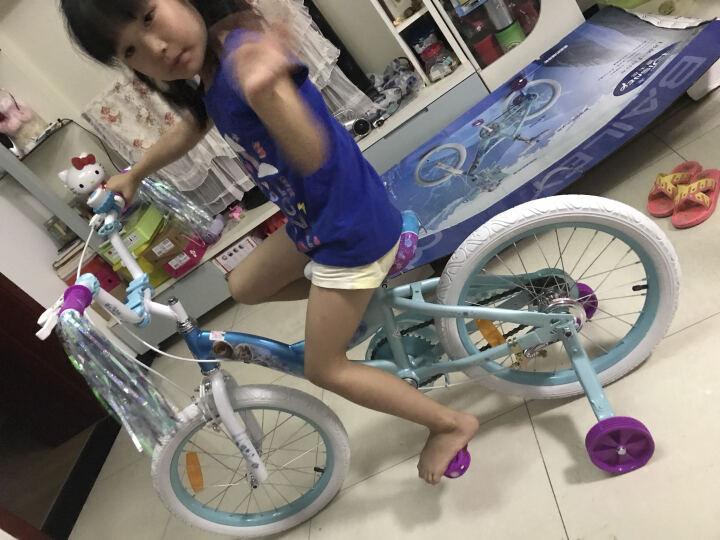 Bailey 迪士尼 儿童自行车12/14/16/18寸童车3-6岁男女孩小宝宝脚踏单车 雪橇(18英寸)预售5月20日前发货完成 晒单图
