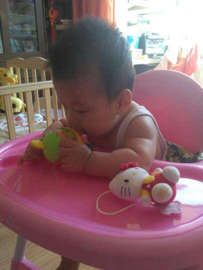 贝格贝拉(Berg&Bela) 多功能儿童餐椅便携式婴儿餐椅高低可调节bb宝宝吃饭餐桌椅 柠檬黄 晒单图