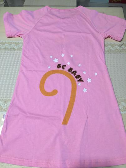 北辰宝贝(Beichen Baby) 儿童睡衣亲子装女童夏季纯棉 卡通亲子睡裙母女空调服 气球长颈鹿 130尺码 晒单图