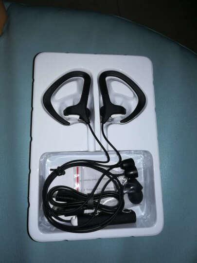 铠迪克新品热卖无线运动蓝牙耳机 挂颈式跑步一机两用通话手机音乐男女情侣搭配耳麦耳机 蓝色 晒单图