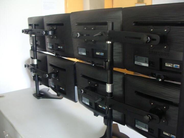 TOPSKYS TS744E显示器支架桌面底座式四屏15-24英寸多屏幕液晶LCD电脑挂架 晒单图