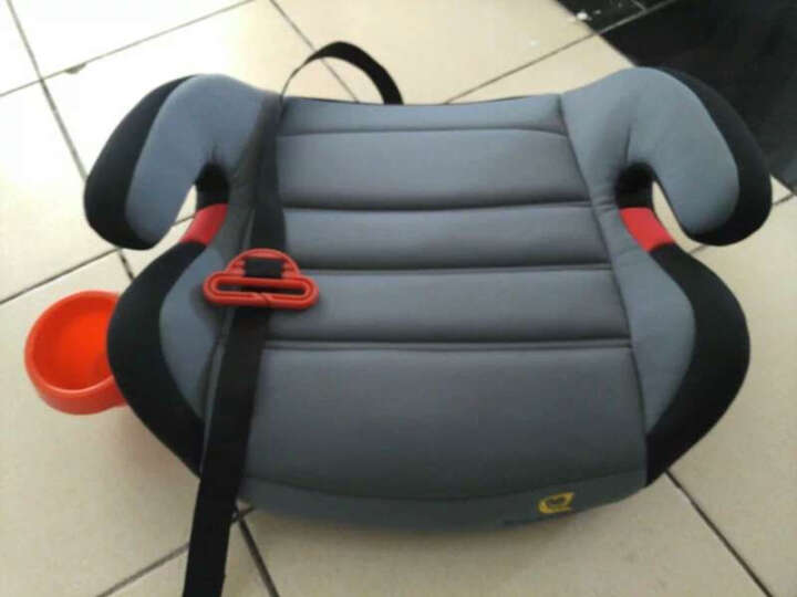 怡戈(Ekobebe) 儿童安全座椅增高垫车载3-12岁宝宝简易汽车用便携式坐垫 神秘灰 晒单图