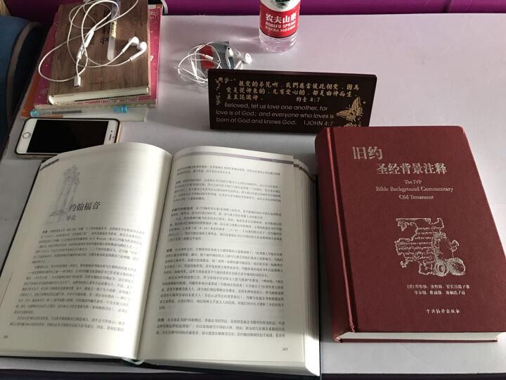 新约圣经背景注释 、旧约圣经背景注释 基督教(2本一套) 晒单图