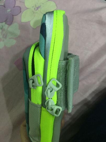 加加林 运动手机臂包手腕包跑步包 登山臂带跑步臂袋 手臂包袋 迷彩蓝大号 晒单图