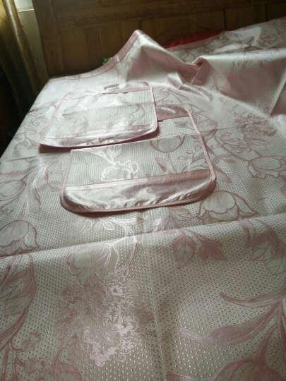 爱之语 凉席 冰丝席席子单人双人夏 凉席三件套1.5米/1.8米床 清蒂夏光粉-推荐 180*200cm(三件套) 晒单图