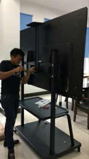 森克 多媒体教学一体机 壁挂式幼儿园电子白板 触摸屏视频会议平板电视电脑触控查询机 移动支架-1800(不单卖) 55英寸 晒单图