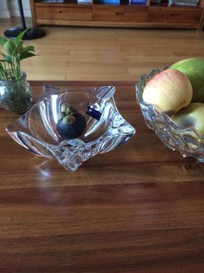 Delisoga 无铅水晶玻璃果盘果斗糖果篮 欧式时尚创意客厅茶糕点沙拉 海星8吋小号 婚庆礼品装饰 晒单图