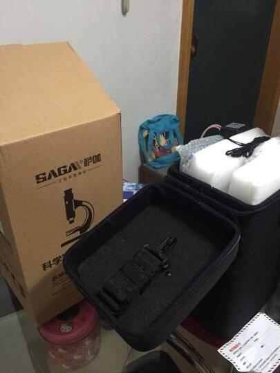 SAGA萨伽 专业儿童中学生生物显微镜1600倍便携科普套装可接电脑水产养殖看精 套餐3=标配+延长筒+卡口(可接单反拍摄) 晒单图