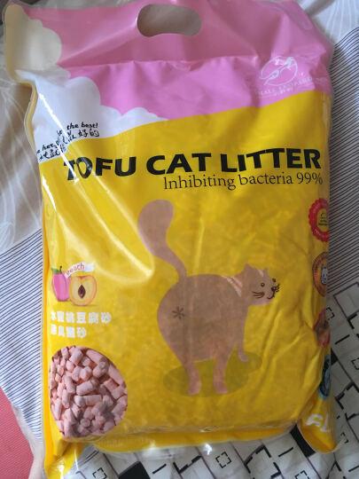 买多优惠豆腐猫砂 水蜜桃味强力除臭迅速结团6L装猫砂水蜜桃猫砂 晒单图