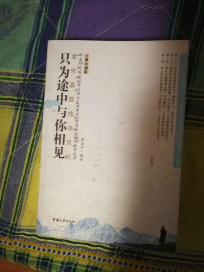 正版现货 仓央嘉措情诗赏析-只为途中与你相见 藏传佛教史上引人注目的上师情歌现当代文学作品 晒单图