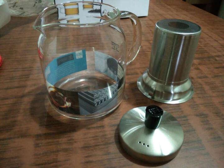 尚明(samaDOYO)耐热玻璃茶壶泡茶壶不锈钢过滤家用大容量泡茶器加厚茶具套装 700ml单壶(2-4人使用),限时送小杯 晒单图