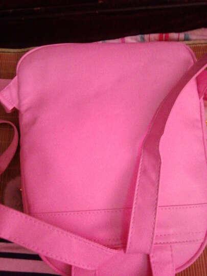 INZOOM双肩包女新款PU防水韩版潮流小背包学院风学生书包旅行背包子母包 粉色三件套 晒单图