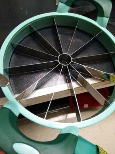 克欧克 切西瓜神器 多功能水果分离器 切水果神器 不锈钢西瓜切片器 绿色 晒单图