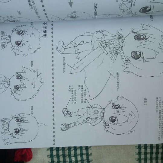 通向漫画家之路--Q版人物素描1000例 晒单图