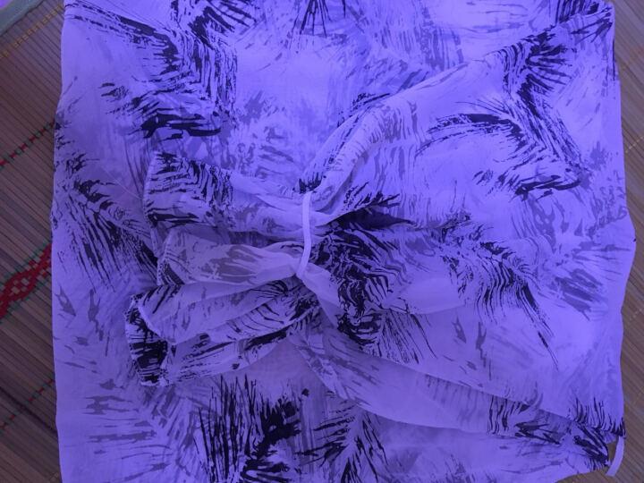 夏季防晒口罩女薄款透气 防晒披肩防紫外线韩国 骑车防晒口罩护颈面罩 遮阳面罩面纱 羽毛白【赠同款口罩-可拆卸】 晒单图