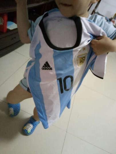 儿童足球服套装 中童小学生运动服队服定制 童款短袖球服训练服 小孩球衣 16-17啊根廷10号 XXXS=95cm左右 晒单图