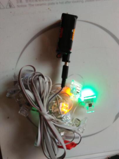 风筝边灯 20头/72头/120头 食人鱼方灯led灯 仅7.2v/3500mA锂聚电池+充电器 晒单图