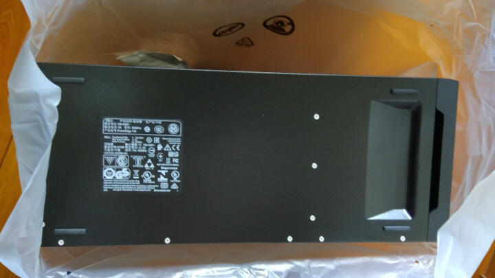 戴尔(DELL)PowerEdgeT30服务器 (G4400/4GB/1TB SATA /3年上门服务) 晒单图