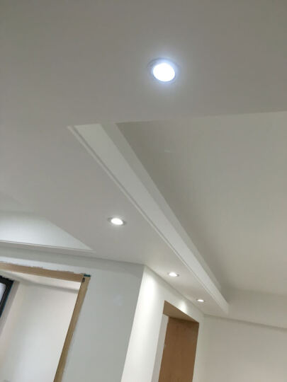 西蒙照明 LED筒灯75mm-85mm开孔客厅家用嵌入式筒灯10只/3寸 FD20/3.5W暖白光 晒单图