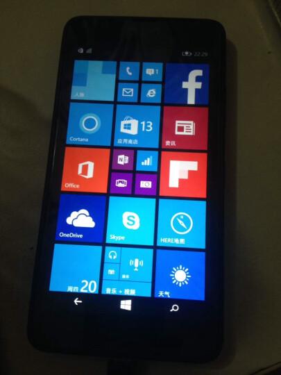 微软(Microsoft) 微软 lumia 640黑色智能手机 联通4G SD卡扩展 黑色 港版机身内存 8G 晒单图