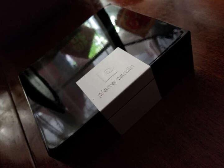 皮尔卡丹pierrecardin男士腰带 欧美时尚男皮带牛皮自动扣裤带礼盒P6C824106-BYA黑色 晒单图