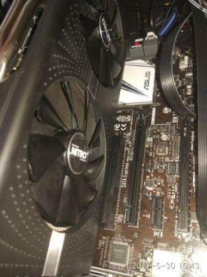 蓝宝石(Sapphire) RX580系列电脑游戏吃鸡独立显卡 RX 580 8G 超白金 极光特别版 晒单图