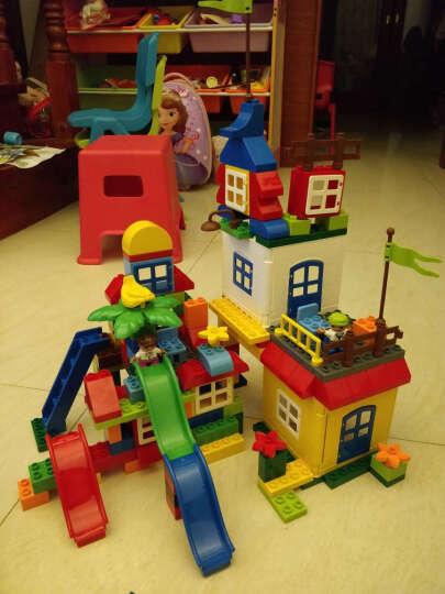 欢乐客 儿童积木玩具 早教启蒙拼装玩具兼容乐高大颗粒益智塑料拼插3-4-5-6周岁我的世界 旗舰版358颗粒+收纳凳*2 晒单图