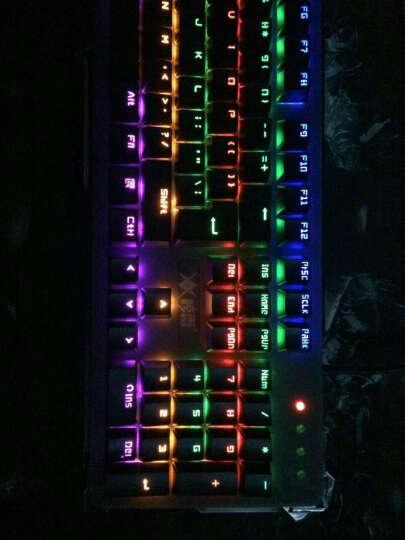 惊雷 KM910游戏机械键盘鼠标套装有线游戏键盘蒸汽朋克复古圆键帽机械键盘青轴键鼠套装 理线带(赠品勿拍) 晒单图