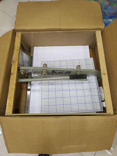 万特 布样机 400型布样裁切机裁 样布花边锯齿型花边机 样板机 切边机500型 50厘米(直边)刀片 晒单图