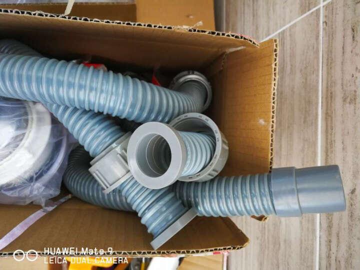 爱帮乐(AIBANGLE) 洗菜盆下水管厨房双槽B连接管垃圾处理器双接头下水排水管 0.8米双接口+4个垫片 晒单图