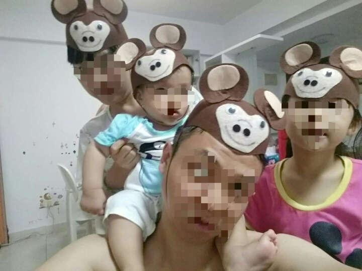 表演用品聚会装扮COS道具大人儿童兔老鼠卡通帽子 可爱小动物帽子 灰太狼帽 晒单图