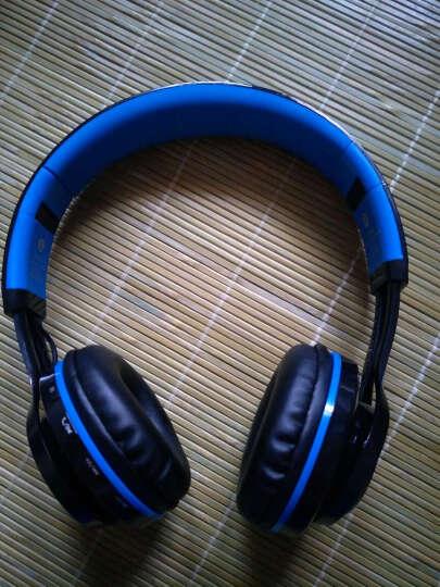 Sound Intone蓝牙耳机头戴式 无线带麦音乐重低音手机电脑笔记本台式通用耳麦 SoundIntone BT-06 黑蓝色 晒单图