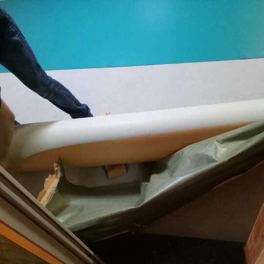 欧百娜健身房地胶PVC塑胶运动地板羽毛球场地胶垫乒乓球篮球场防滑地垫 荔枝纹3.5自己安装 晒单图