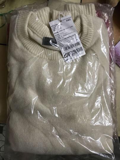 佐丹奴彼尔梦毛衣 男纯色羊毛混纺圆领长袖套头针织衫男13054501 16黄玉石色 小码(165/92A) 晒单图