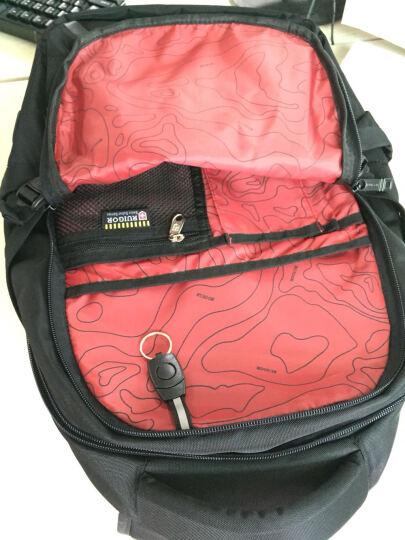 瑞戈(RUIGOR)背包男女通勤14英寸电脑包15.6英寸 大容量多功能旅行包商务休闲双肩包学生书包 套装【6081加大版+胸包6022】(商家发货) 晒单图