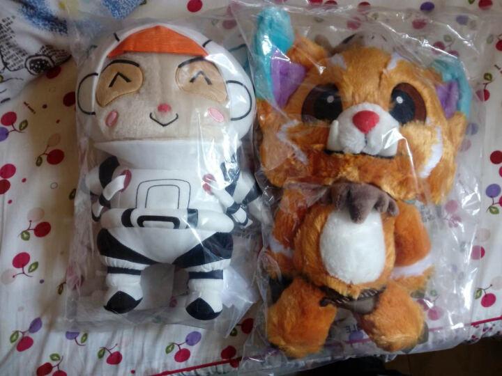 英雄联盟 LOL 宇航员 提莫 熊猫玩偶 毛绒手办公仔 官方正品 晒单图