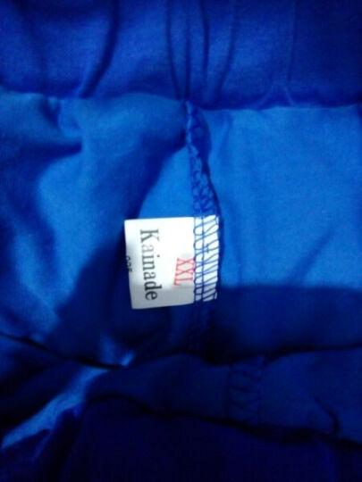 一扇轩 女士短袖休闲运动套装2019夏季纯棉跑步运动服防走光裙裤大码广场舞健美操服装短裙套装两件套 蓝色 M(70-95斤) 晒单图
