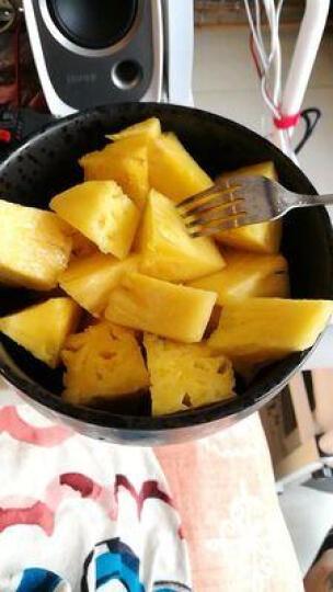【两件减二十】台湾金钻凤梨2个装 树上熟新鲜水果凤梨小菠萝2000g 晒单图