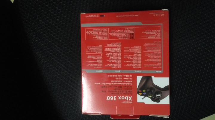 DFyou 微软Microsoft XBOX360游戏手柄支持PC电脑USB振动有线手柄 白色 无线 晒单图