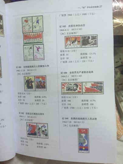 包邮 中国邮票价格实用目录(2015版)邮票收集收藏书籍 邮票鉴赏图册 集邮收藏手册 晒单图