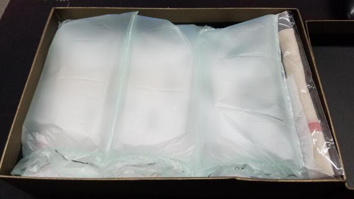 BURBERRY巴宝莉女士经典格子格纹流苏羊绒围巾丝巾4032917 3962863浅卡其(顺丰闪电发货) 晒单图